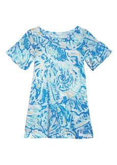 Lilly Pulitzer® Mini Lindell Ruffle Dress (Toddler Girls, Little Girls & Big Girls)