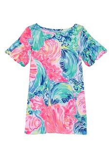 Lilly Pulitzer Mini Lindell Ruffle Sleeve Dress (Toddler Girls, Little Girls & Big Girls)