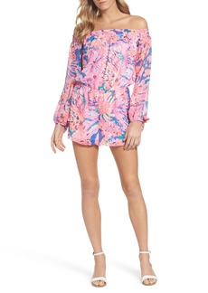 Lilly Pulitzer® Myri Off the Shoulder Romper