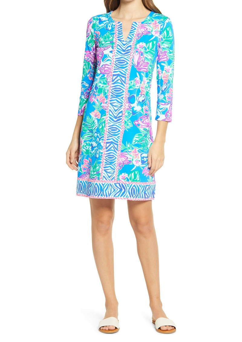 Lilly Pulitzer® Nadine Floral UPF 50+ Shift Dress