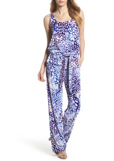 Lilly Pulitzer® Nena Velour Jumpsuit