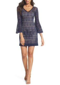 Lilly Pulitzer® Nicoline Bell Sleeve Lace Dress