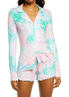 Lilly Pulitzer® Notch Collar Pajama Top