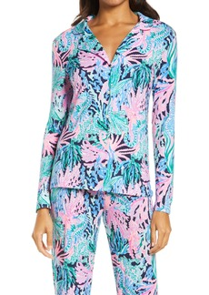 Lilly Pulitzer® Notch Collar Pajama Top