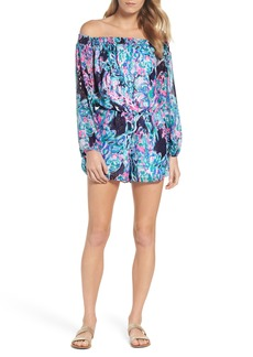 Lilly Pulitzer® Off the Shoulder Romper