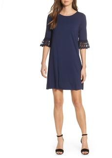 Lilly Pulitzer® Ophelia Crochet Cuff Shift Dress