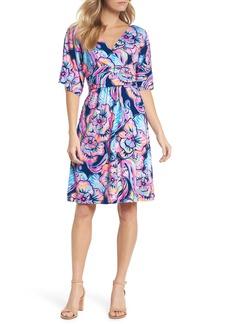 Lilly Pulitzer® Parigi Floral Kimono Sleeve Dress