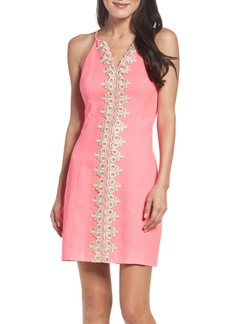 Lilly Pulitzer® Pearl Embroidered Sheath Dress