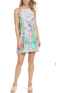Lilly Pulitzer® Pearl Soft Halter Shift Dress
