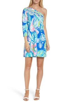Lilly Pulitzer® Petra One-Shoulder Shift Dress