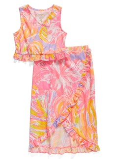 Lilly Pulitzer® Rebekah Top & Skirt Set (Toddler Girls, Little Girls & Big Girls)