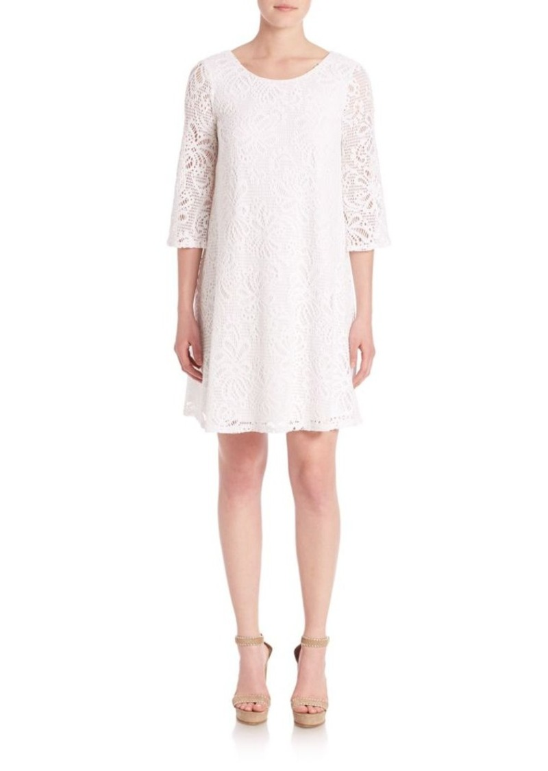 Lilly Pulitzer Resort Whirlpool Knit Lace Foley Dress