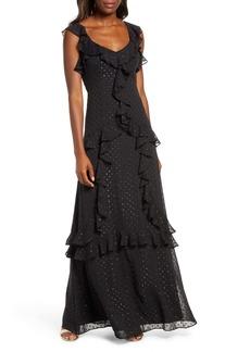 Lilly Pulitzer® Riland Clip Dot Maxi Dress