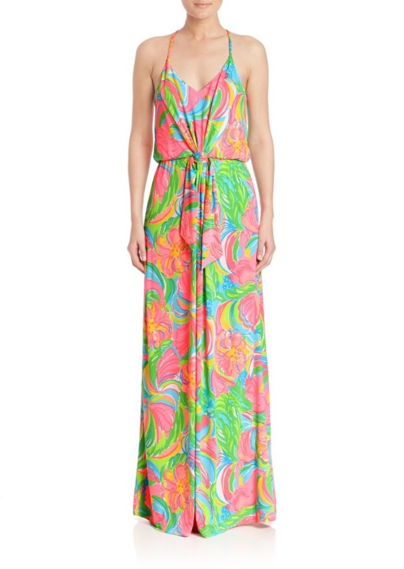 Lilly Pulitzer Rosa Printed Maxi Dress