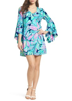 Lilly Pulitzer® Rosalia Bell Sleeve A-Line Dress