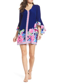 Lilly Pulitzer® Rosalia Bell Sleeve Silk A-Line Dress