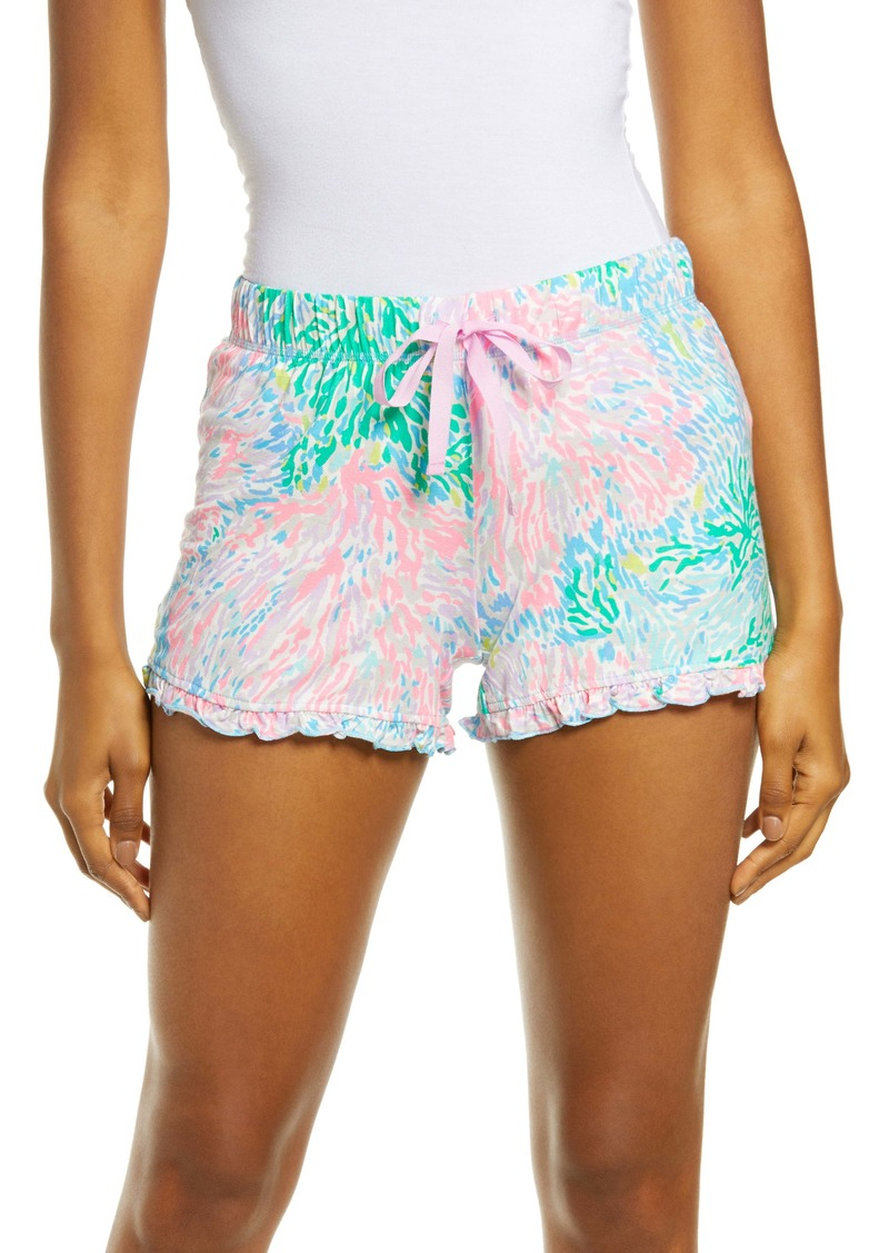 Lilly Pulitzer® Ruffle Pajama Shorts
