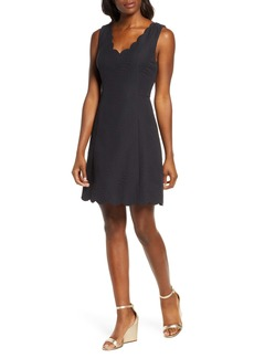 Lilly Pulitzer® Sabeen Stretch Jacquard Fit & Flare Dress