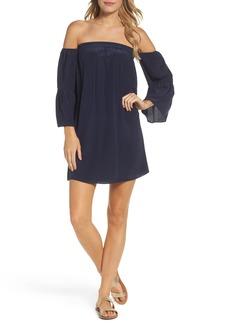 Lilly Pulitzer® Sanilla Silk Off the Shoulder Dress