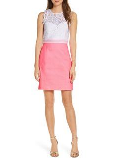 Lilly Pulitzer® Sharice Lace Sleeveless Sheath Dress