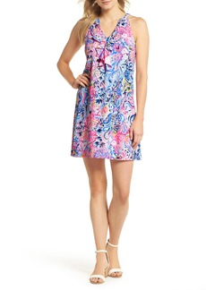 Lilly Pulitzer® Shay Ruffle Halter Neck Shift Dress