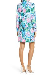 Lilly Pulitzer® Skipper Print UPF 50+ Long Sleeve Cover-Up Dress