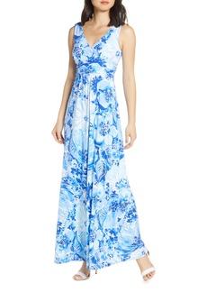 Lilly Pulitzer® Sloane Floral Print Maxi Dress