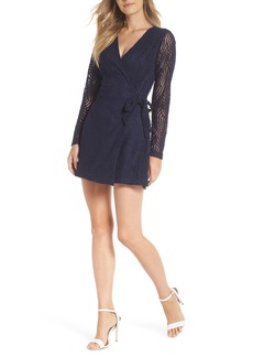 Lilly Pulitzer® Tiki Lace Wrap Romper