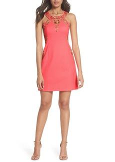 Lilly Pulitzer® Tina Embroidered Sheath Dress