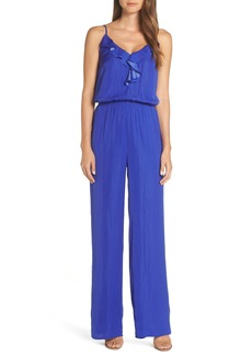 Lilly Pulitzer® Tinley Sleeveless Ruffle Neck Jumpsuit