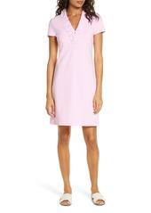 Lilly Pulitzer® Tisbury Stripe Ruffle Neck Dress