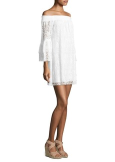 Lilly Pulitzer Tobyn Off-The-Shoulder Lace Dress