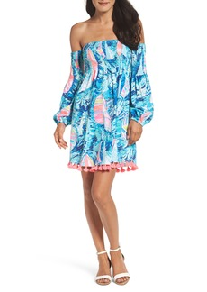 Lilly Pulitzer® Trina Cotton Off the Shoulder Dress