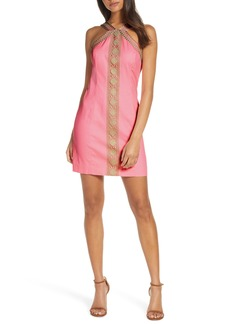 Lilly Pulitzer® Vena Embroidered Minidress