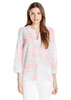 Lilly Pulitzer Women's Amelia Island Blouse Tunic  Small