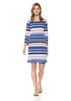 Lilly Pulitzer Women's Bay Dress Paradise Pink The Swim Stripe XS