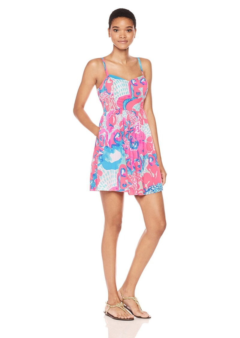 5cab4eb5258e Lilly Pulitzer Lilly Pulitzer Women's Christine Dress Coral Reef Im ...