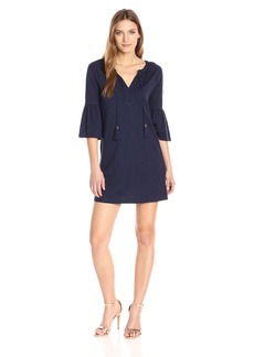Lilly Pulitzer Women's Del Lago Tunic Dress 408:True Navy S