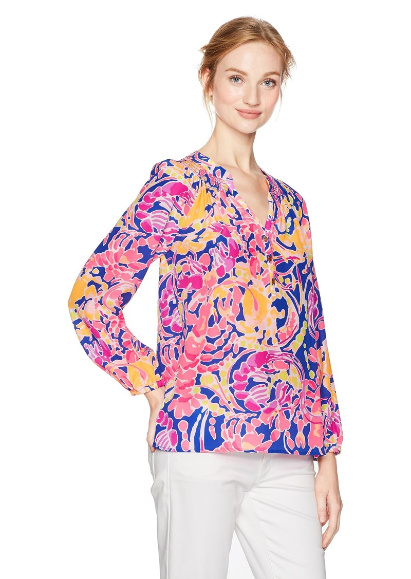 2d77a6dd6e0ed Lilly Pulitzer Lilly Pulitzer Women s Elsa Top Catch and Release XL