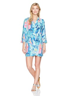 Lilly Pulitzer Women's Emerald Beach Cover-up Tunic  XS