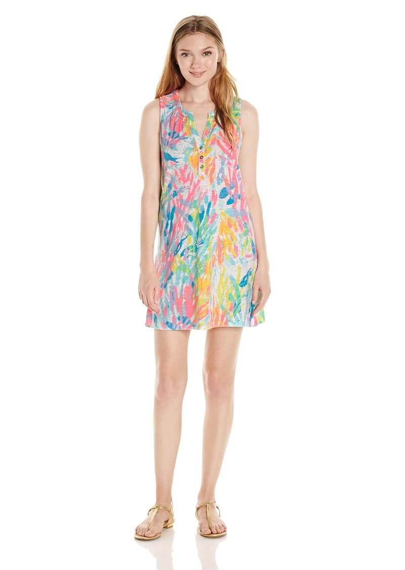 ca260f28 Lilly Pulitzer Lilly Pulitzer Women's Essie Dress Sparkling Sands XL ...