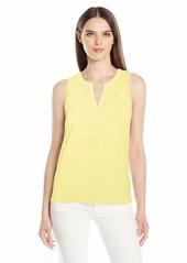 Lilly Pulitzer Women's Essie TOP WATCH Hill Yellow XL