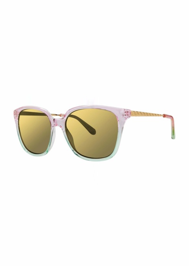 Lilly Pulitzer Women's Haylee Polarized Square Sunglasses