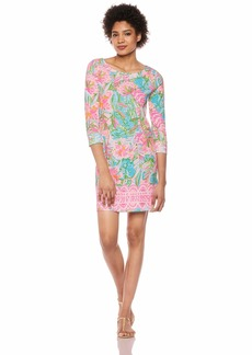 Lilly Pulitzer Women's Hollee Dress Multi pop up Lilly of The Jungle XXS