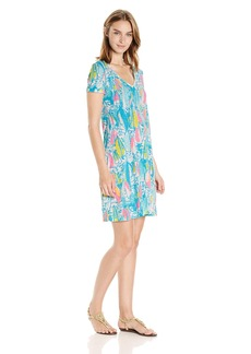 Lilly Pulitzer Women's Jessica Short Sleeve Dress  L