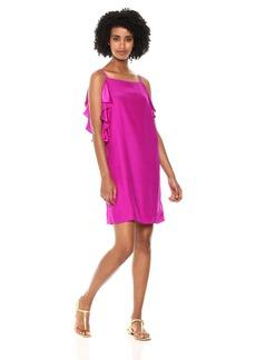 Lilly Pulitzer Women's Kara Silk Dress BlackBerry L