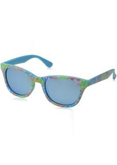 Lilly Pulitzer Women's Maddie Polarized Wayfarer Sunglasses