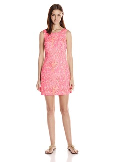 Lilly Pulitzer Women's Mila Shift Dress 660:Tiki PINKRW9 :Tappin IT Back Small