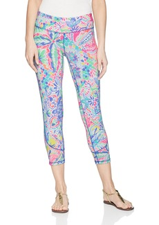 Lilly Pulitzer Women's Rochelle Weekender Legging Multi Dancing on The Dock M