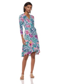 Lilly Pulitzer Women's Rozaline Wrap Dress  L